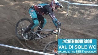 #CathroVision // Val Di Sole Day 4 - Racing & The BEST Question!
