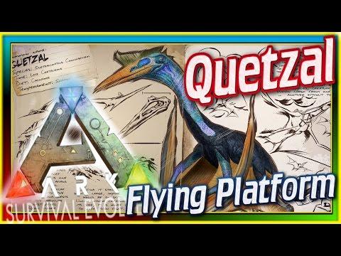 Quetzalcoatlas! (ARK: Survival Evolved Dossier/News) #57: Quetzal Platform Saddle Update & Spotlight