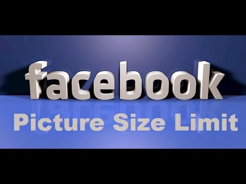 Set full size Facebook profile picture without cropping