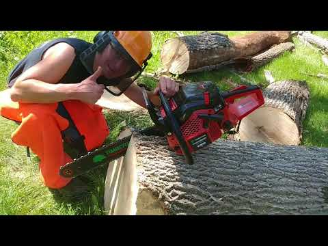 THE VIDEO YOUR STIHL DEALER DOESNT WANT YOU TO SEE- THE PROFESSIONAL 62 CC TIMBERPRO CHAINSAW $250