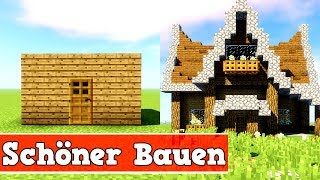 minecraft haus gullutube. Black Bedroom Furniture Sets. Home Design Ideas