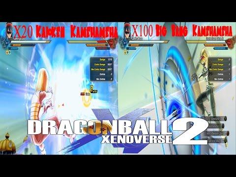 X20 Kaioken Kamehameha VS X100 Big Bang Kamehameha Dragon Ball Xenoverse 2