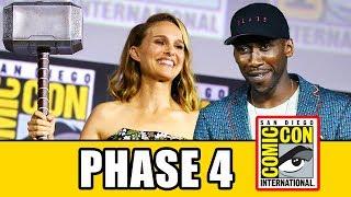 MARVEL Comic Con Panel - THOR 4, BLACK WIDOW, ETERNALS, BLADE, SHANG-CHI