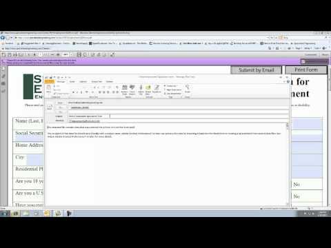 Online Employment Application Video Tutorial