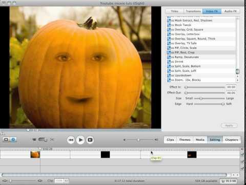 iMovie Special Effects Tutorial:Annoying Orange Effect