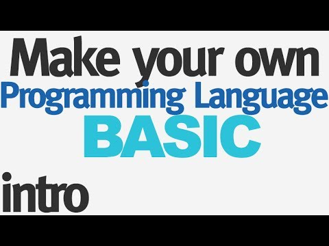 Make Your Own Programming Language - Introduction