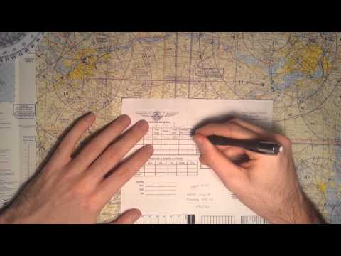 Cross Country Flight Planning using the CR-3 Flight Computer