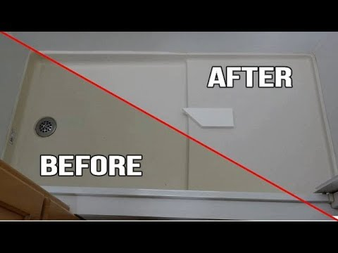 How to fix yellowing plastic inside an RV back to white!