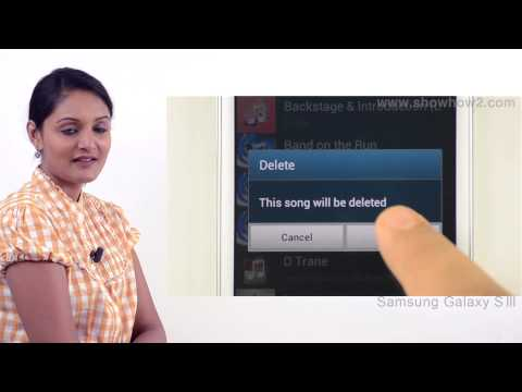 Samsung Galaxy S3 - Delete One Song Or Music - Preview