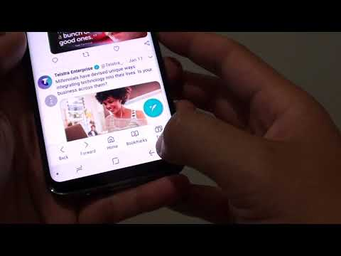 Samsung Galaxy S8: How to Set Internet Home Page to Quick Access
