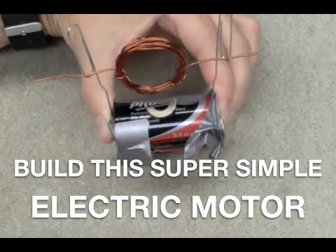 How to build a super simple electric motor