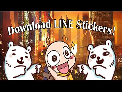 Download LINE Stickers with VPN (2016)