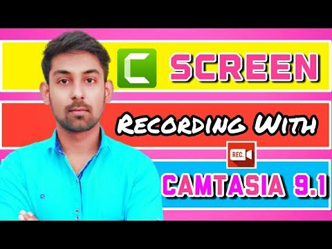 Screen Recording Using Camtasia 9.1-Full Details In ( Hindi ) By Nirbhay Kaushik