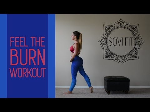 40 min HIIT - Feel The Burn Workout - REAL TIME - BURN 600-700 CALORIES - AT HOME WORKOUT