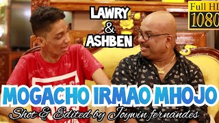 LAWRY sings MOGACHO IRMAO MHOJO. With ASHBEN CARDOZO (2nd consolation prize winner) from SINGER NO 1