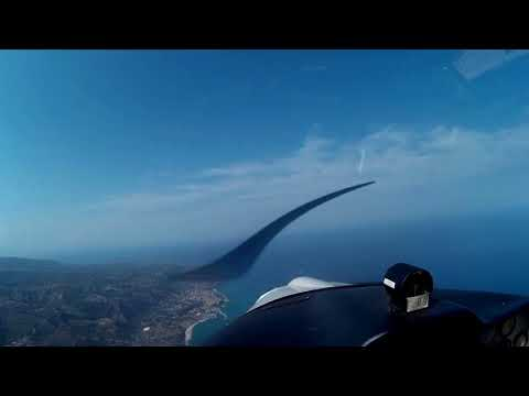 Flying over Calabria - South Italy