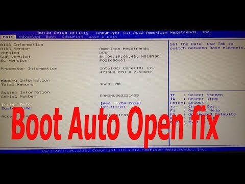 how to repair windows asus laptop boot auto open fix solution essay