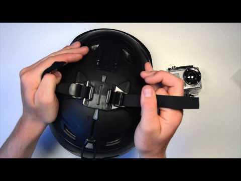 Ski, Snowboard Helmet Mount Vented Strap GoPro Mounting Tips & Tricks