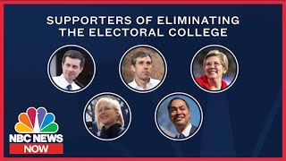 Download On The Issues: Where The 2020 Candidates Stand On The Electoral College | NBC News Now Video