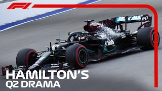 How Lewis Hamilton Escaped Early Qualifying Exit | 2020 Russian Grand Prix