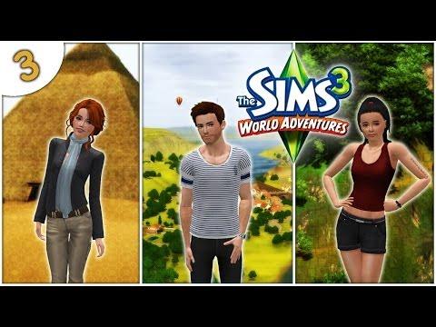 Let's Play the Sims 3 World Adventures (Part 3) Llama Lovin'