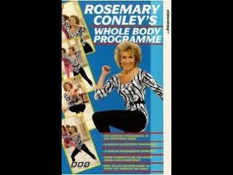 Rosemary Conley's Whole Body Programme 1991 Complete vhs