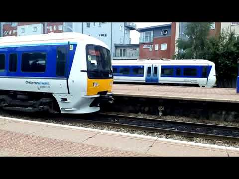 BRAND NEW!!!!!!! Chiltern 165027 arrives at Aylesbury from Wolverton