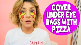 how to disguise under eye bags grace helbig