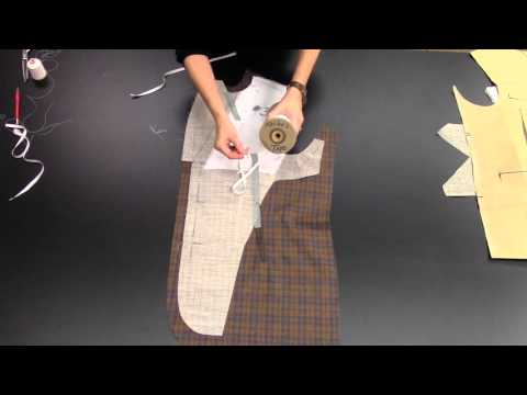How to Canvas the Suit Coat Front: Part Two