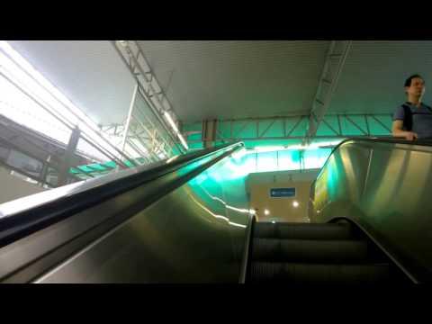 LRT Hang Tuah 走去 Monorail 单轨火车去 Berjaya Time Square