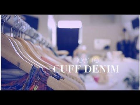 How to Cuff Denim