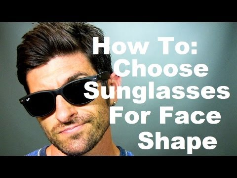 Face Shape and Sunglasses: How To Choose The Best Sunglasses For Your Face Shape