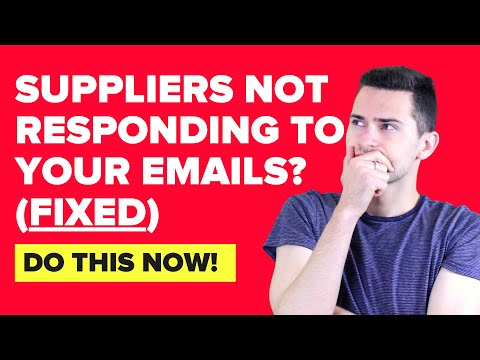 How to get suppliers respond to my inquiries?