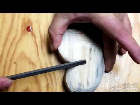 Making a wooden Heart