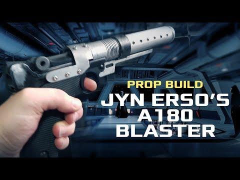 Prop Build: Jyn Erso's A180 Blaster (Battlefront version)