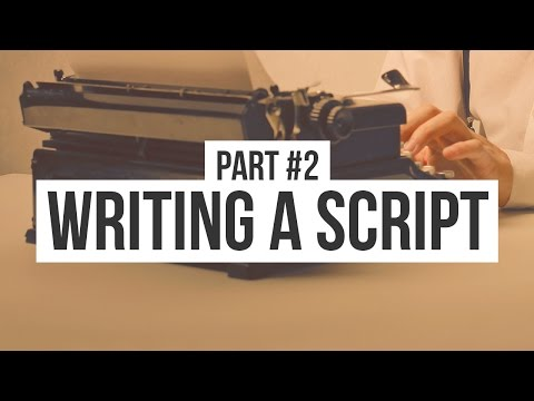 How to Write a Script (Format): Making an Animated Movie (#2)