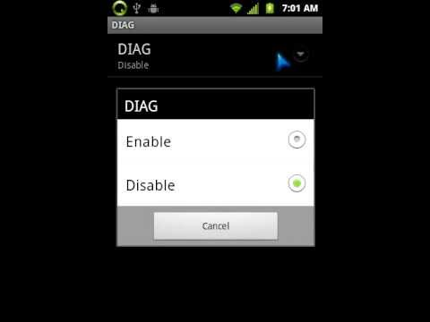 LG Optimus Elite Diag Mode without MSL code
