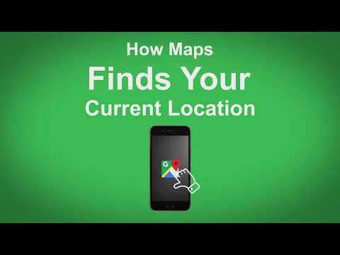 Google Maps   How Maps Finds Your Current Location