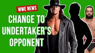 Rusev Replaced For Undertaker Match At WWE Greatest Royal Rumble