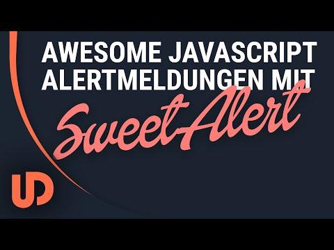 Awesome Alert Meldungen mit Sweetalert.JS! Einfach und Schnell! [TUTORIAL]