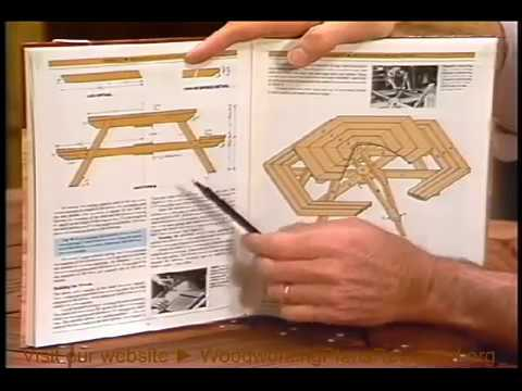 How to Build a Picnic Table | Hexagonal Picnic Table 1/3