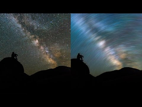 Fake Star Trail Photograpy Effect Photoshop Tutorial