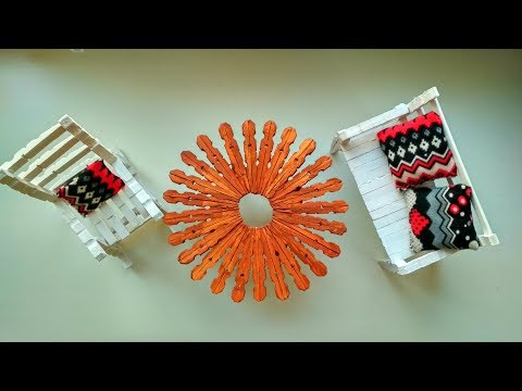 Awesome Ideas with Clothespin - DIY Crafts Tutorial