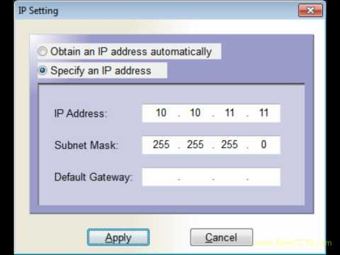 Video Tutorial: How to Configure a Wireless IP Camera Kit