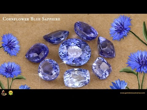 Cornflower Blue Sapphire Exotic Rare and Beautiful