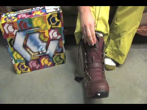 Snowboard Boot Lacing Guide - Northwave Super Lace