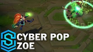 Cyber Pop Zoe Skin Spotlight - League Of Legends