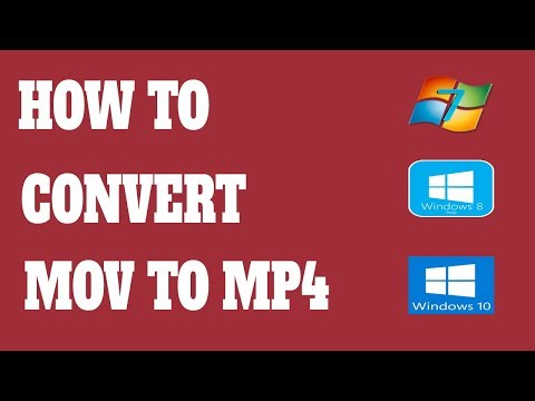 How to convert MOV file to MP4 free