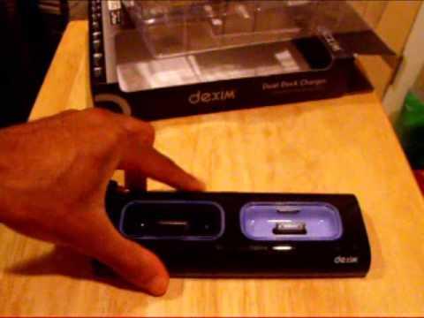 Dexim Dual Dock Unboxing/Review