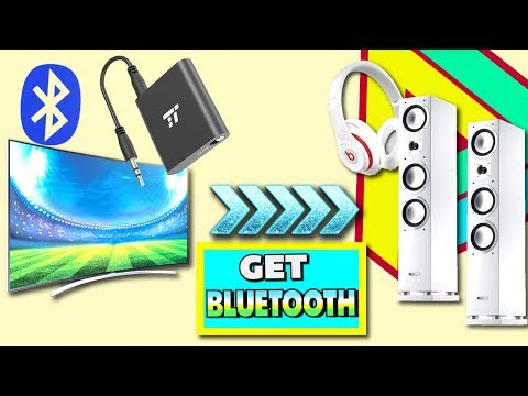 How To Make ANYTHING Bluetooth - TaoTronics Bluetooth Transmitter Review for TV, PC, iPod, and More!